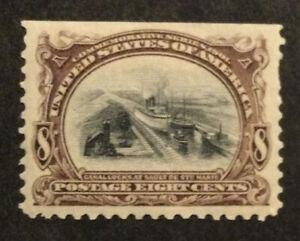 TDStamps: US Stamps Scott#298 Mint HR OG Lightly Crease