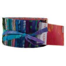 "Moda FABRIC Jelly Roll ~ BONFIRE BATIKS ~  by Moda 42 - 2.5"" strips"