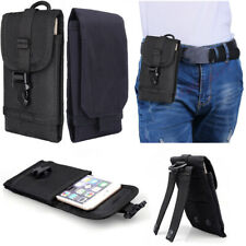 Men Nylon Waist Bag Belt Loop Holster Phone Pouch Carring Case Wallet Fanny Pack