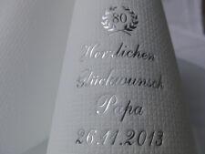 ♥ 50 individuell bedruckte Servietten mit Aufschrift für PARTY//GEBURTSTAG//FEIER