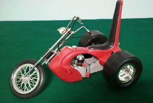 Vintage Cox Sportster Trike Chopper w/Babe Bee .049 Nitro Engine