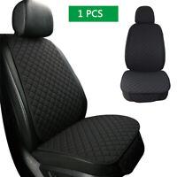 1PCS Linen  Black Car Seat Cushions Cover Protector  Interior Accessories
