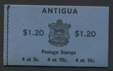Antigua - 1968 - Booklet - SG# SB1 - SG CV £8.50