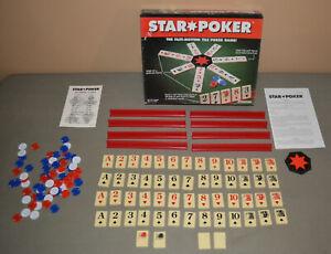 Vintage STAR POKER tile game - 1994 Pressman