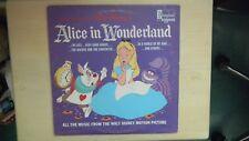 All Songs From Walt Disney's ALICE IN WONDERLAND Disneyland Record LP 1968