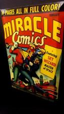 Miracle Comics Feb Cover in 3-D large 11x17