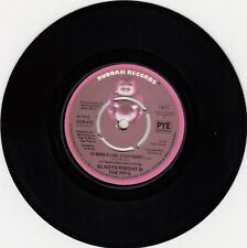 """GLADYS KNIGHT & THE PIPS THE ONE AND ONLY / TO MAKE A LONG.... 1978 RECORD UK 7"""""""