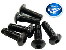 NRG Steering Wheel Screw Kit 6 piece Black SWS-100BK