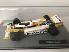 Panini F1 Car Collection - Renault RS10 - 1979 Jean Pierre Jabouille  GP 1:43