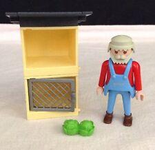 REPLACEMENT Playmobil # 4491 RABBIT HUTCH & FARMER Pieces / Parts