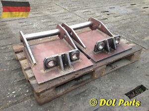 Adapterplatte MS10 SW10 HS10 Adapter Platte Schnellwechsler Anschweißplatte