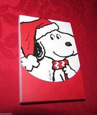 Snoopy Santa  Mini Note Pad 95 Sheets Perfect Stocking Stuffer by Peanuts