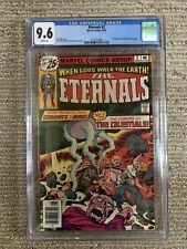 Eternals #2 Marvel Bronze Age Comic CGC 9.6 WP