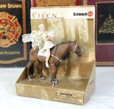 SCHLEICH ELFEN ELF - LLOEIA WITH LEOLYNN - SCARCE RETIRED --  NEW IN BOX