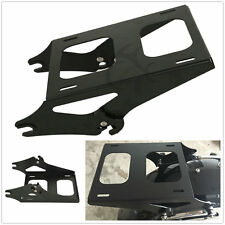 Detachable 2 Up Tour Pak Pack Mounting Luggage Rack For Harley Touring FL 14-17