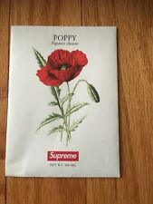 New Supreme Poppy Seeds Flowers Ready To Ship Plant Ss18 Gift