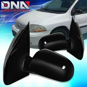 FOR 1999-2000 FORD WINDSTAR PAIR OE STYLE POWER+HEATED DOOR MIRROR REPLACEMENT