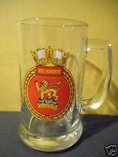 HMCS ST. JOHN'S BEER MUG,STIEN,CANADIAN NAVY SHIP,BADGE,LOGO