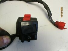 2009 Honda Pan European ST1300 right side clip on handle bar kill start switch