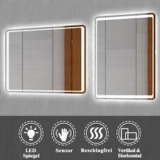 LED Wandspiegel mit Beleuchtung Badezimmerspiegel Sensor-Schalter Beschlagfrei ?