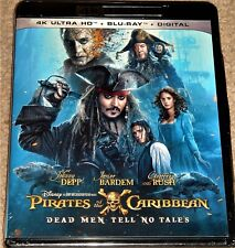 PIRATES OF THE CARIBBEAN: DEAD MEN TELL NO TALES 4K ULTRA HD / INCLUDES BLU RAY