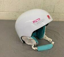 Burton RED Pure Ski/Snowboard Helmet White Size Small 55-57cm EXCELLENT LOOK