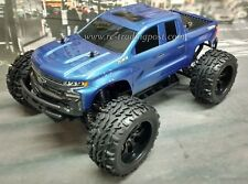 Silverado Z71 Trail Boss Custom Painted 4X4 Volcano EPX 1/10 RC Monster Truck