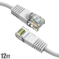 35Ft Cat.5E Molded Snagless Patch Cable White