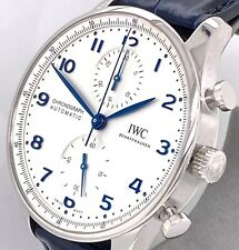 IWC PORTUGIESER CHRONOGRAPH 2020 Collection 41 mm Watch - IW371605 BRAND NEW !