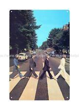 Beatles abbey road crosswalk metal tin sign outdoor art prints online