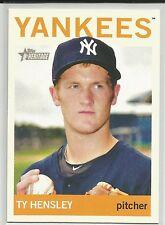Ty Hensley New York Yankees 2013 Topps Heritage Minor League