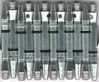 1.5in. 2ba Silver Aluminum Rota Spinning Dart Shafts: 3 per set