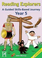 Reading Explorers: A Guided Skills-based Journey: Year 5 by John Murray (inc.CD)