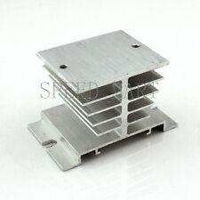 Alloy Aluminum Heat Sink Cooling Socket For Solid State Relay Timer SSR