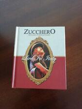 """LIVE IN ITALY """"ZUCCHERO"""" SUGAR FORNACIARI  (2cd 2dvd) EDIZIONI LAURUS"""