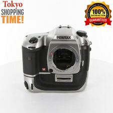 [EXCELLENT+++] PENTAX K20D Titanium Premium Color Body + D-BG2 Battery Grip JP