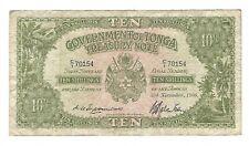 Tonga - Ten (10) Shillings, 1966