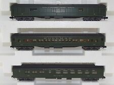 Rivarossi 0535 Personenwagen Set Baltimore and Ohio PULLMAN N neu OVP Rare
