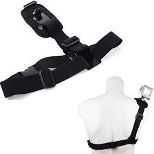 Elastic Shoulder Chest Strap Belt Mount Harness For GoPro Hero 2 3 3+ 4 5 SJ4000