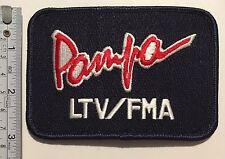 Pampa LTV/FMA Patch IA-63 JPATS 2000 Trainer 1990s. Rare!!