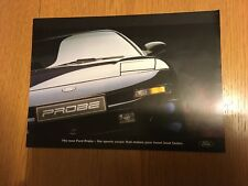 FORD PROBE PREVIEW CAR SALES BROCHURE 1993