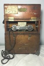 American Electric Railroad Field Phone