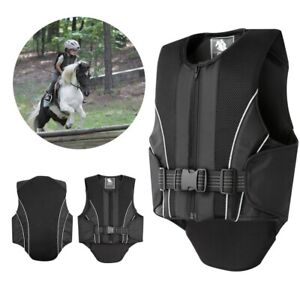 Comfortable Protective Horse Riding Training Safety Vest for Children Kids New