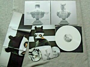 "Cro - Melodie - 12"" Vinyl Album - WHITE Vinyl + Poster + Aufkleber + CD 2014"