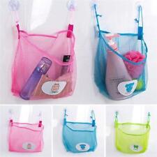 Baby Kid Bath Tub Toy Storage Suction Cup Bag Mesh Bathroom Net Organiser Shan