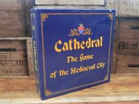 Cathedral The Game of Mediaeval City Wooden Board Game - Pin International