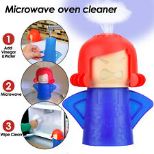 1pc Angry Mama Microwave Oven Cleaner Steam Clean Kitchen Gadget Cooking Tool