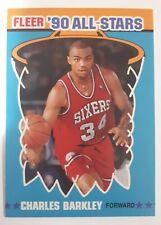 1990-91 Charles Barkley 76ers Fleer All stars #1