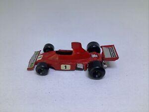 Polistil 1/55 Scale Model Car SM70 - F1 Ferrari 312 B3 74- #1 Red