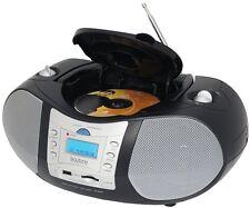 Boytone BT-6B Boombox CD Player USB/SD/MMC Slot FM Radio Auxiliary-in Headphone
